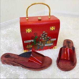 FREE PEOPLE Daybird Mini Wedge Sandals